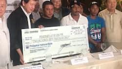 Gem-Vir 1 fishermen receive P1.2 million from Fil-Chinese businessmen