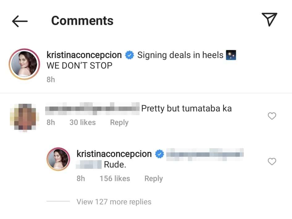 """KC Concepcion, matapang na sinagot ang netizen na nagsabing """"tumataba"""" na siya"""