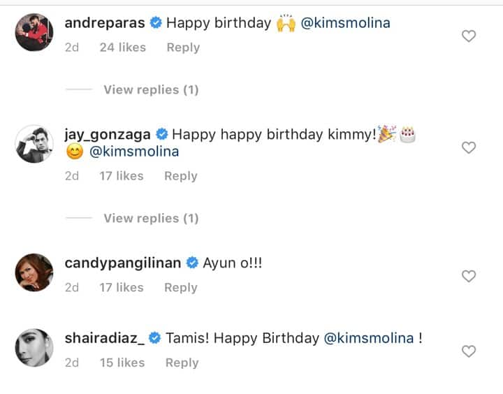 Jerald Napoles writes a sweet birthday message for his girlfriend Kim Molina