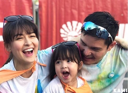 Cuteness overload! Dingdong Dantes and Marian Rivera share how Zia got her first haircut in a vlog