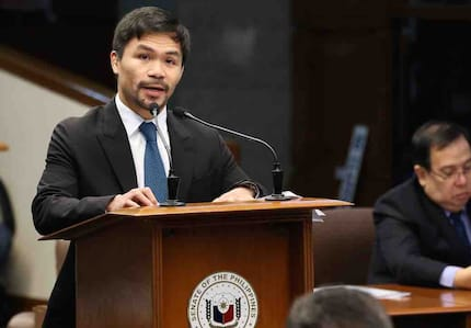6 notable bills filed by Senator Manny Pacquiao