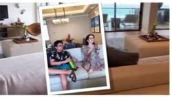 Kris Aquino, ipinasilip ang sosyaling room nila sa bagong resort na binisita