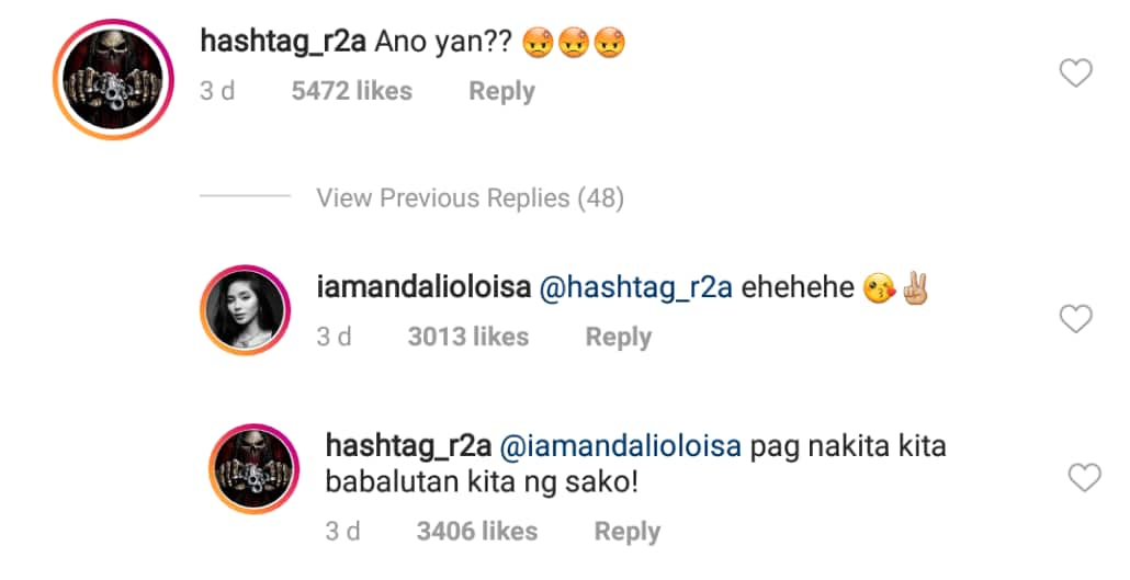 Lagot! Ronnie Alonte calls out Loisa Andalio for sultry picture