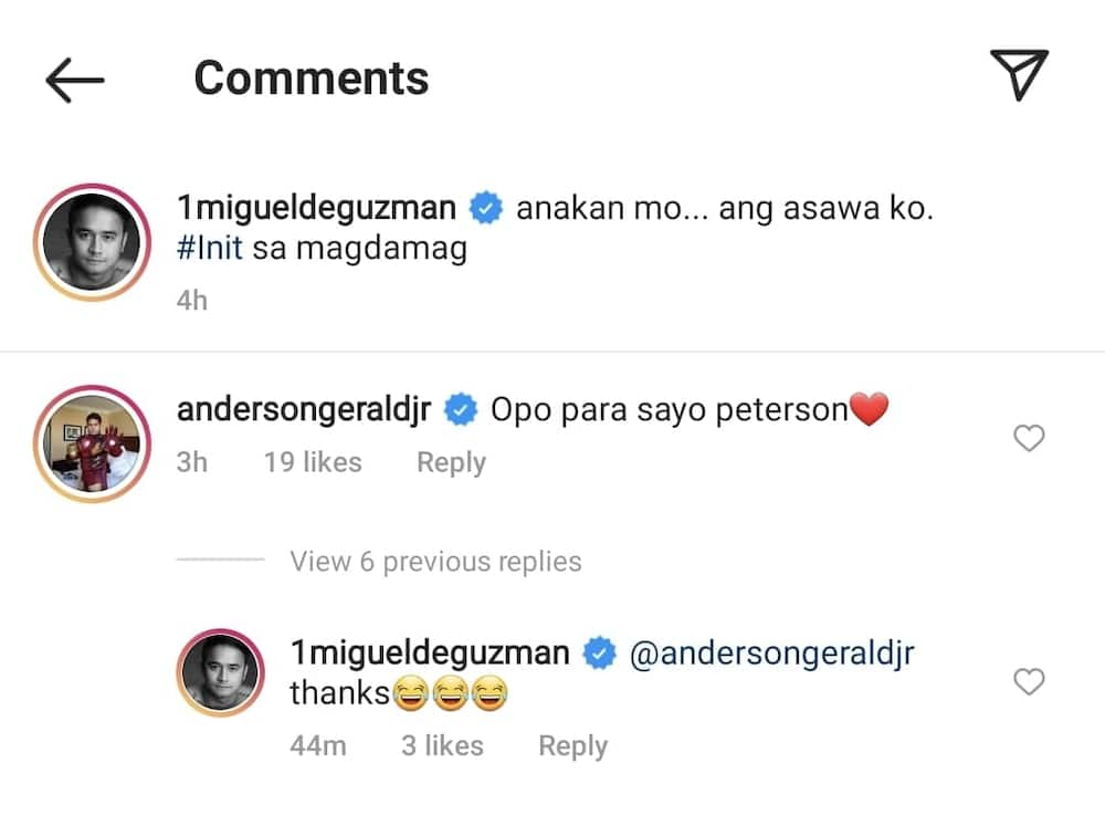 """Gerald Anderson reacts to JM De Guzman's viral """"anakan"""" post about their show"""