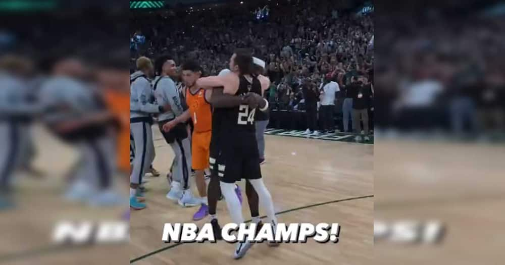 Milwaukee Bucks, 2020-2021 NBA Champions; tinalo ang Phoenix Suns 105-98