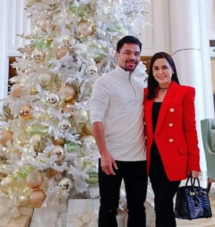 Jinkee & Manny Pacquiao's surprise birthday party at home for son Michael
