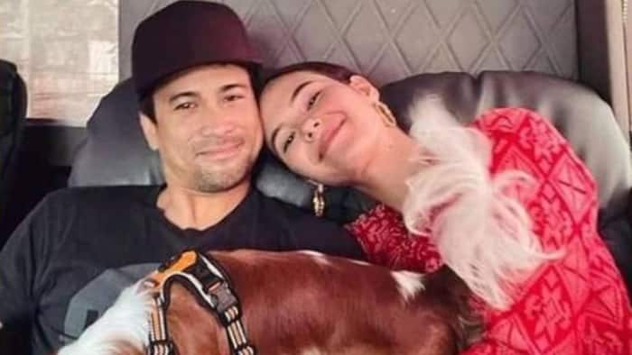Catriona Gray and Sam Milby introduce their newest family member, Bailey