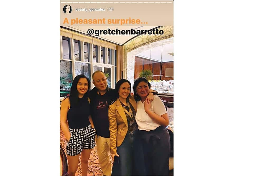 Gretchen Barretto gives honest comment after bumping into Beauty Gonzalez