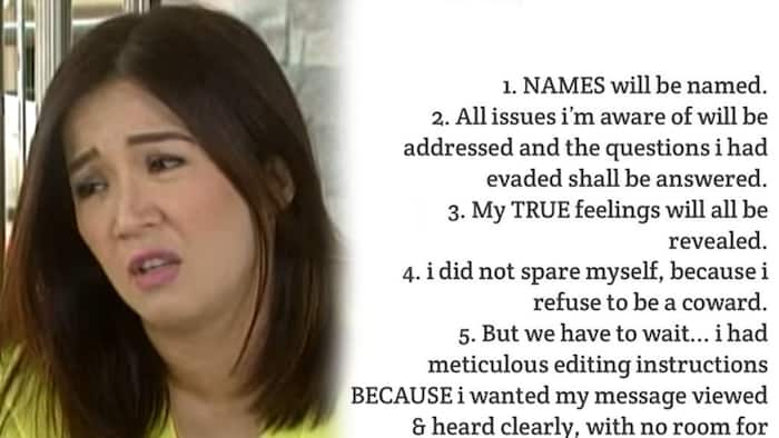 """Kris Aquino fires back against basher who accused her of being """"ma-drama"""""""