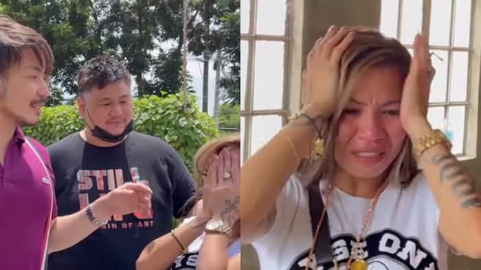 Madam Inutz, naiyak sa bonggang house and lot na regalo ni Wilbert Tolentino