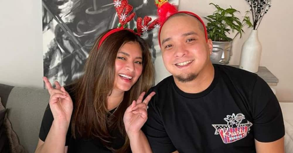 Angel Locsin shows her simple but beautiful wedding reception area