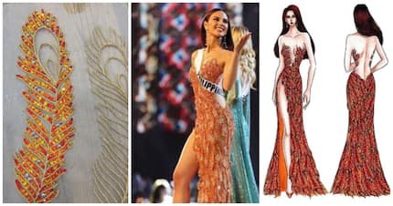 Genius ang pagkagawa! Evening gown ni Catriona Gray sa Miss Universe 2018 preliminaries, may malalim na simbolismo