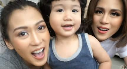 Alex Gonzaga at pamangking si Seve, may nakakaaliw na bonding moment
