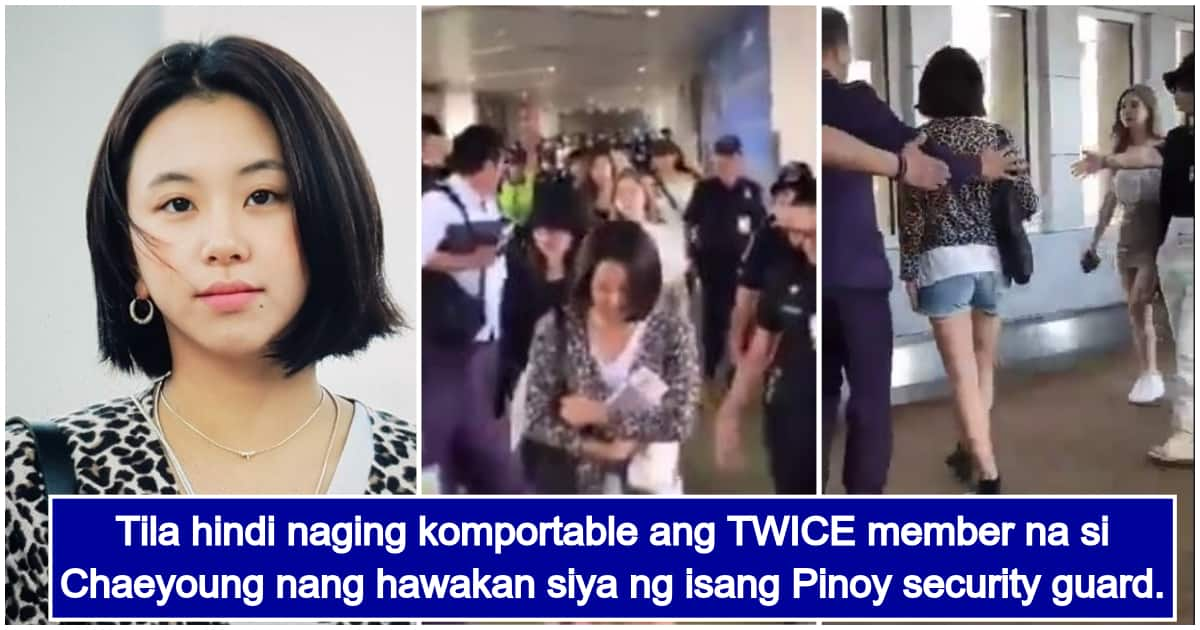 Netizens react to footage of TWICE member Chaeyoung in NAIA
