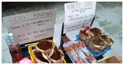 """20 anyos na estudyante, nagtayo ng maliit na """"honesty store"""" para sa kanyang pag-aaral"""
