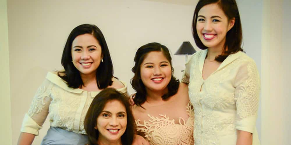 Leni Robredo is a proud mom to daughter Tricia after finishing MD & MBA degrees at the same time