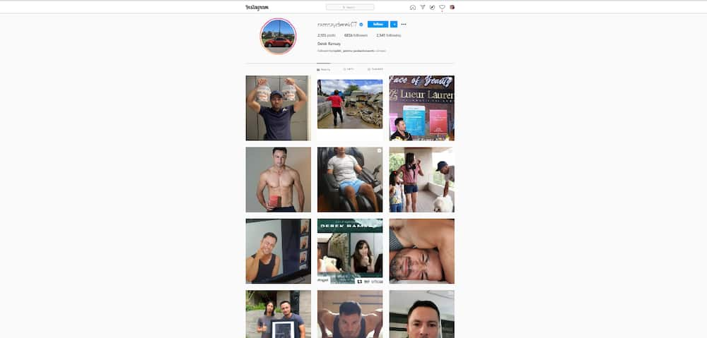 Derek Ramsay and Andrea Torres remove photos together on Instagram