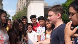 Random Americans in New York identify the cutest love team in the Philippines
