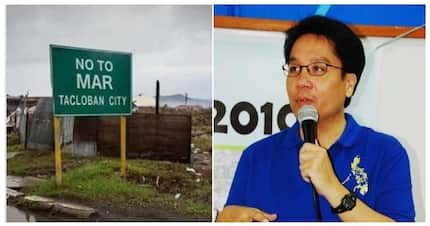 Fact check: Is there a sign in Tacloban targeting Mar Roxas?